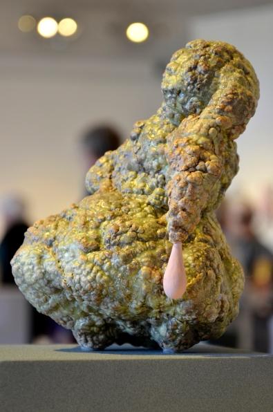 """Tsehai Johnson, """"System for Porosity,"""" ceramic"""