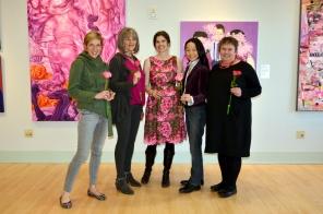 Left to Right: Kate Woodliff O'Donnell, Irene Delka McCray, Anna Kaye, Margaret Kasahara, Ania Gola-Kumor