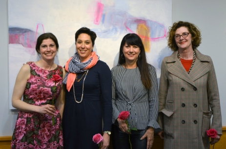 Left to Right: Anna Kaye, Julia Rymer, Trine Bumiller, and Amy Metier