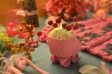 "Lauri Lynnxe Murphy, ""Studio Specimens in Pink,"" mixed media"