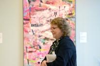"Sue Simon, ""Inner Me,"" Acrylic on Canvas, 60"" x 36"""