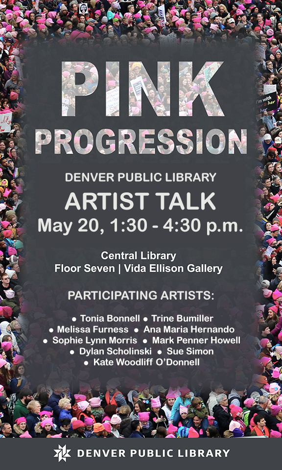 Pink Progression artist lecture May DPL