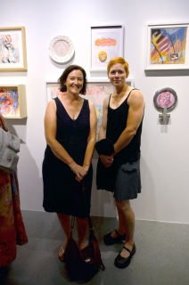 Jodi Stuart and Jennifer Ghormley with their collaboration