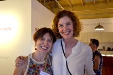 Ana Maria Hernando and Amy Metier