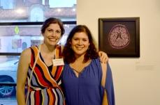 Anna Kaye and Veronica Herrera